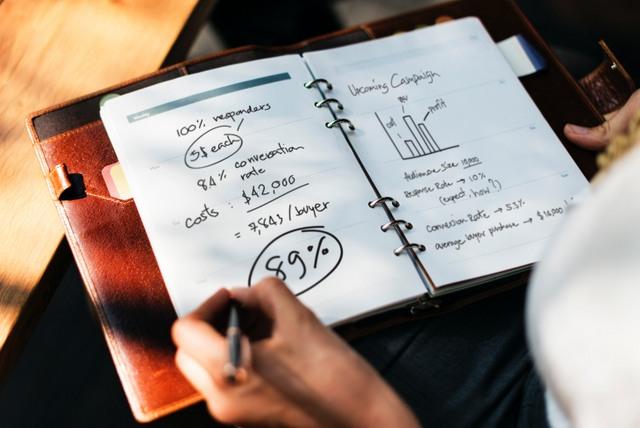Marketing notebook